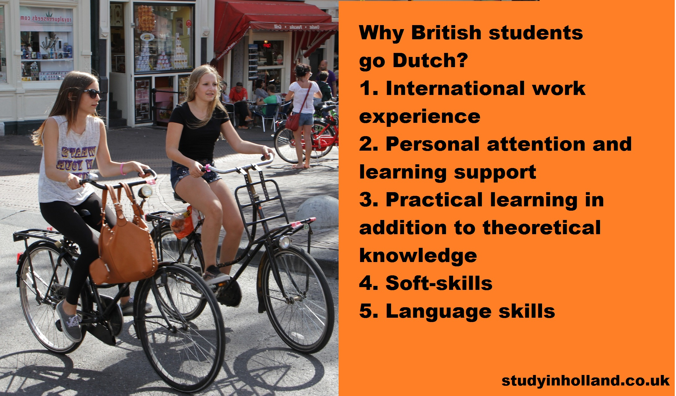 Study in Holland UK students