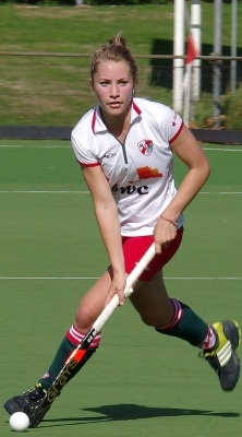 A third year business student and top-level sports athelete at Tilburg who has been selected for England's National Hockey team